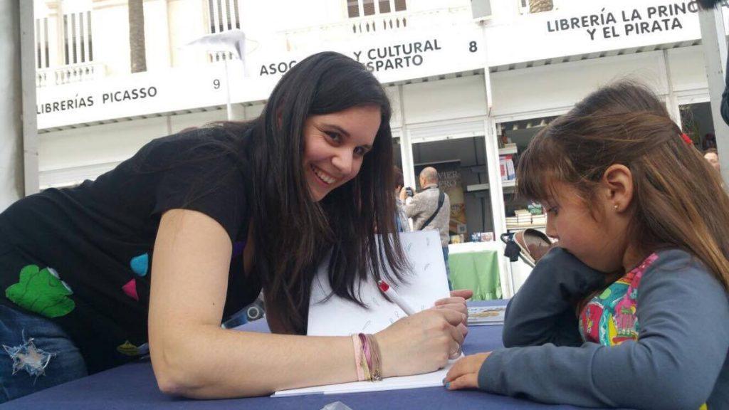 En la Feria del libro de Almería
