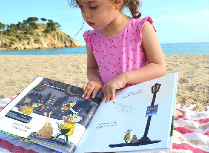 En la playa también se lee